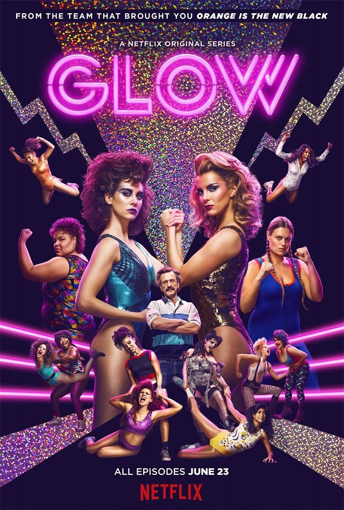 GLOW : Du kitsch et du catch