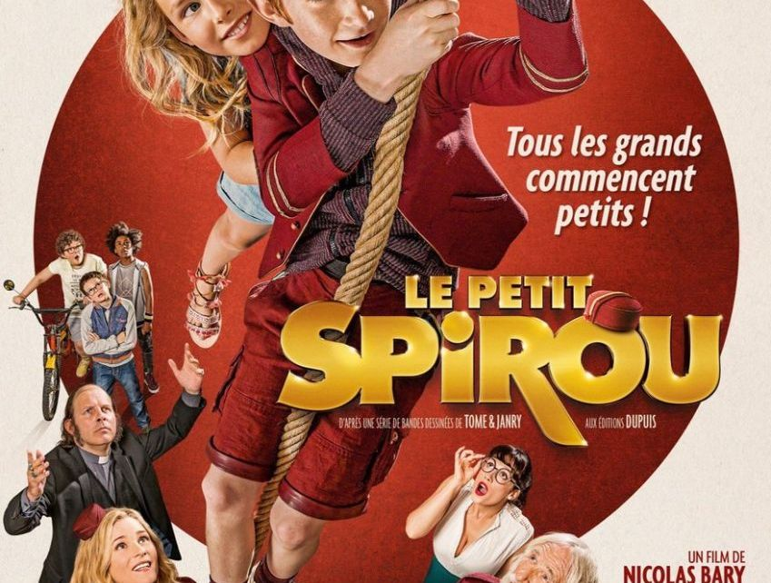 Actu des adaptations - Le Petit Spirou : bande-annonce du film