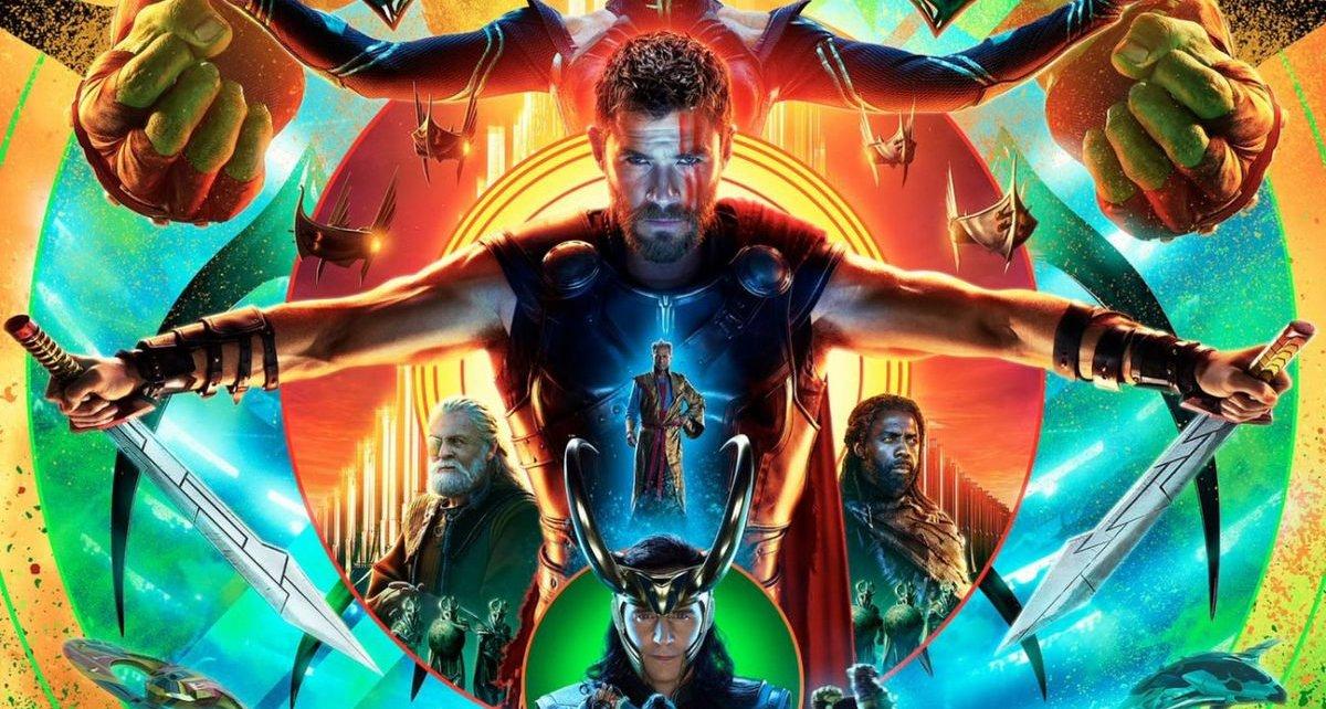 Critiques de suites - Thor Ragnarok : Vous ne verrez pas plus drôle cette année au cinéma sdcc thor poster 1200 1777 81 s