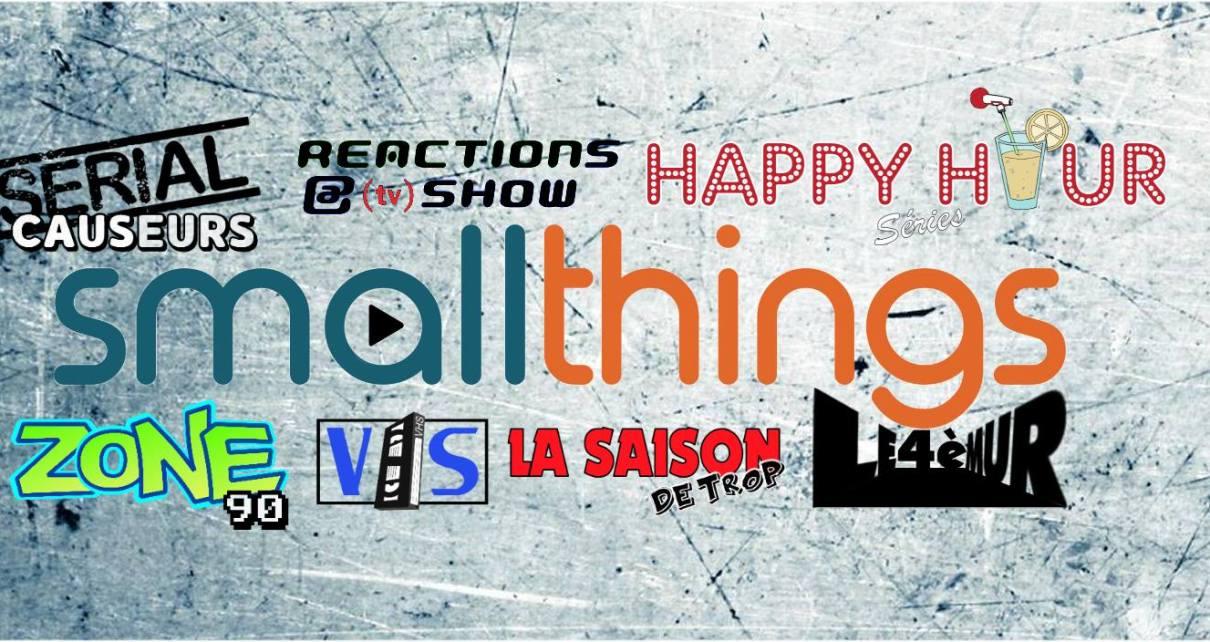 podcast - Serial Causeurs saison 4, VHS, Zone90, podcasts : bilan et nouveaux projets pour Smallthings smallthings serialcauseurs podcast series tv