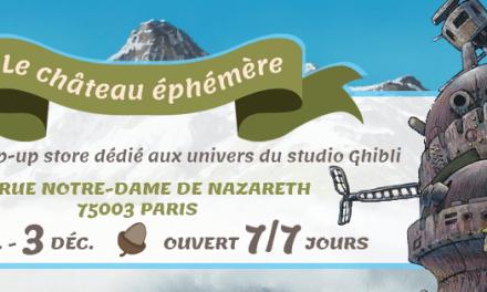 Un pop-up store Ghibli ouvre à Paris