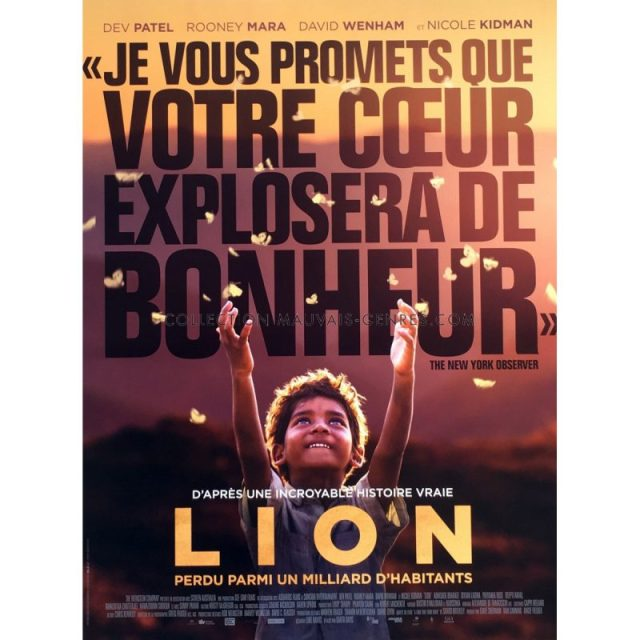 cinéma - 10 choses qu'on ne veut plus voir au cinéma en 2018 lion affiche de film 40x60 cm oscars style a 2017 dev patel garth davis