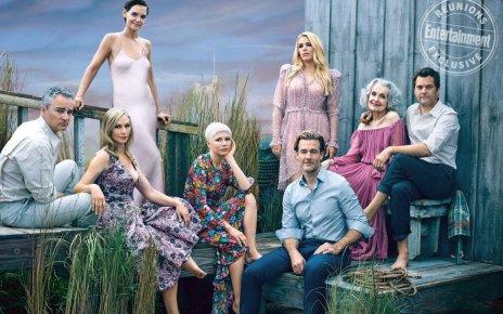 dawson - Entertainment Weekly réunit le cast de Dawson pour les 20 ans de la série