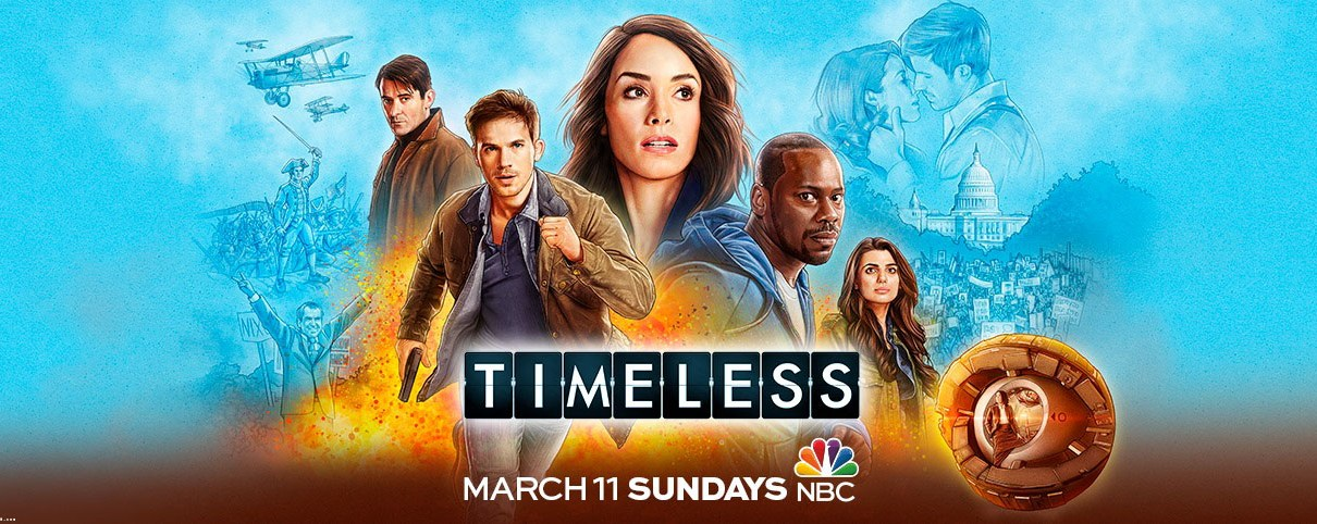 timeless - Serial Causeurs 4x14 : On parle de Lost In Space, Timeless, Life Sentence, Krypton, Alex Inc...