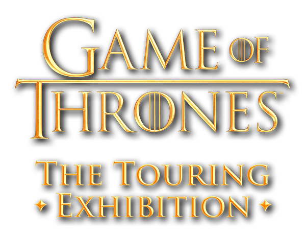 game of thrones - Game Of Thrones : une exposition à paris dès le 1er juin Game Of Thrones Logo Gold
