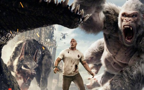 rampage - Rampage : Dwayne vs les animaux mutants géants