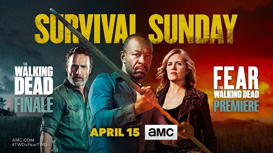 Walking Dead - Walking Dead : le prochain épisode clôture les 8 saisons the walking dead fear the walking dead night