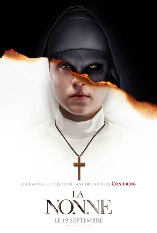 dumbo - La Nonne, le spin-off de Conjuring, et Dumbo se dévoilent la nonne affiche francaise