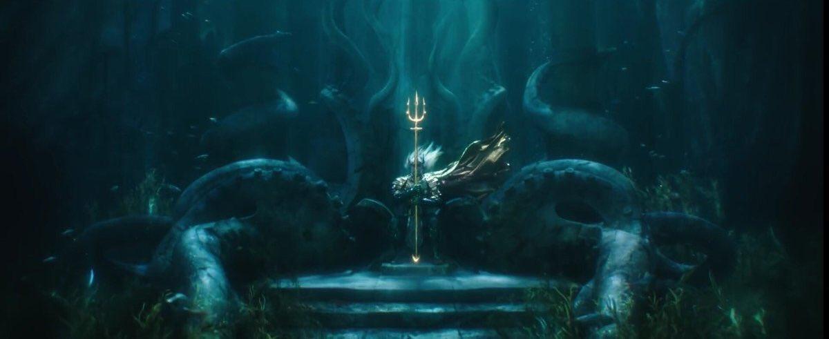 comic con 2018 - Comic-Con : les trailers des Animaux Fantastiques 2, Aquaman, Shazam et Godzilla aquaman trailer