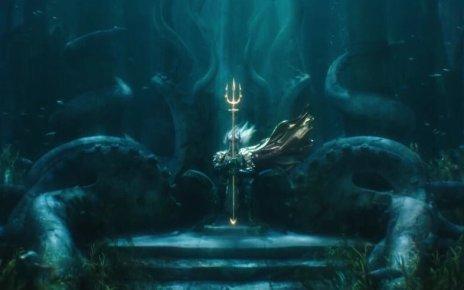 aquaman - Comic-Con : les trailers des Animaux Fantastiques 2, Aquaman, Shazam et Godzilla aquaman trailer
