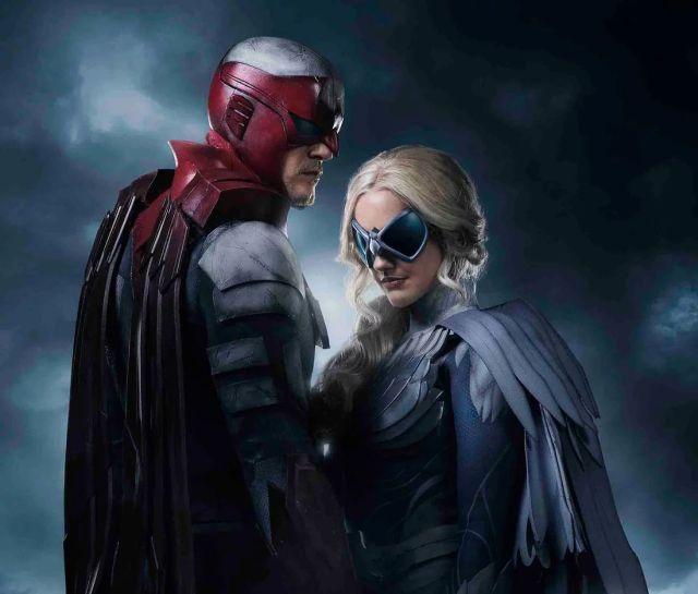 dc - Robin et sa bande dans le premier teaser de la série DC, Titans hawk dove titans