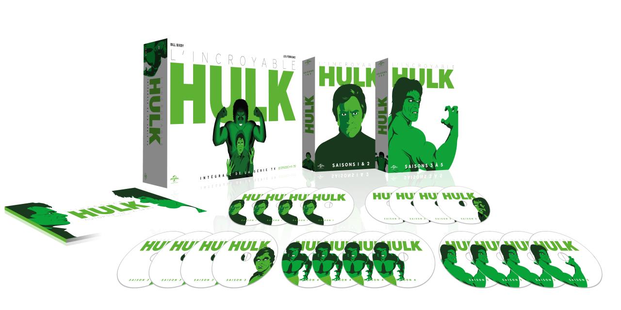 L'Incroyable Hulk revient dans une superbe édition blu-ray