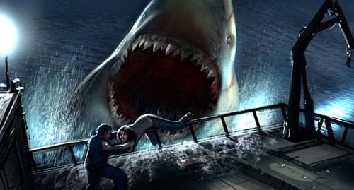 en eaux troubles - En Eaux Troubles (The Meg), un peu trop gros. Ou pas assez ! megaladon20060515 02