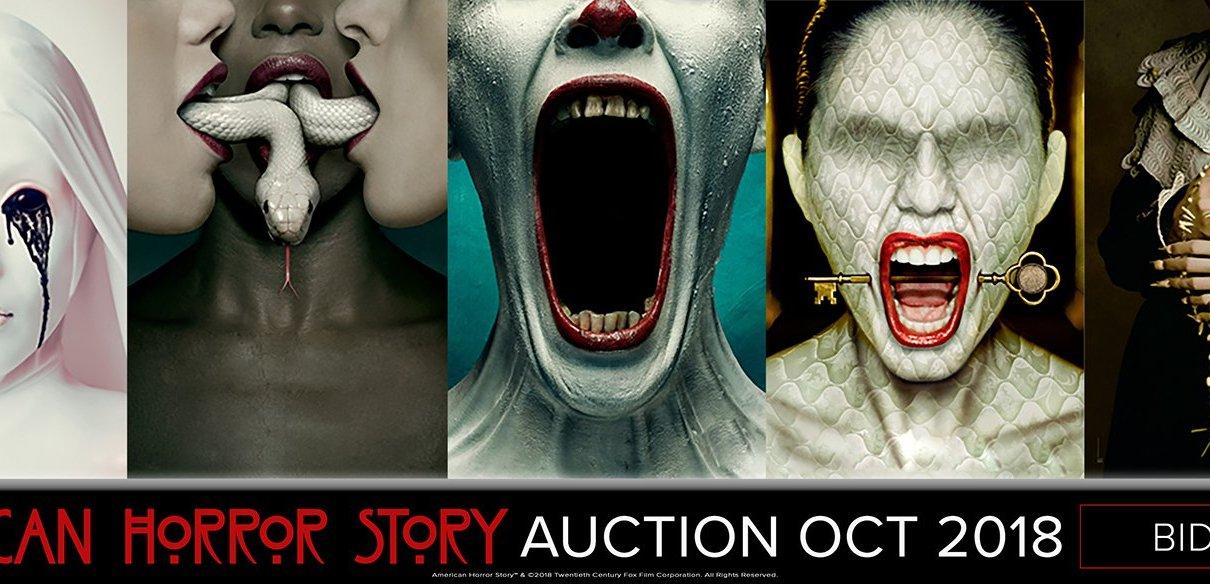 enchères - American Horror Story: grande vente aux enchères AHS Bid Now