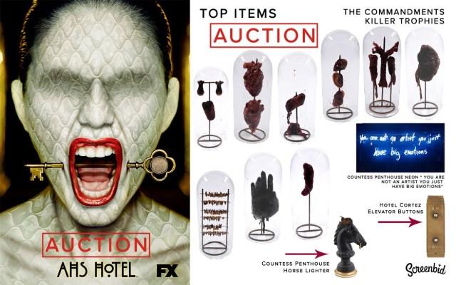 american horror story - American Horror Story: grande vente aux enchères ahs hotel