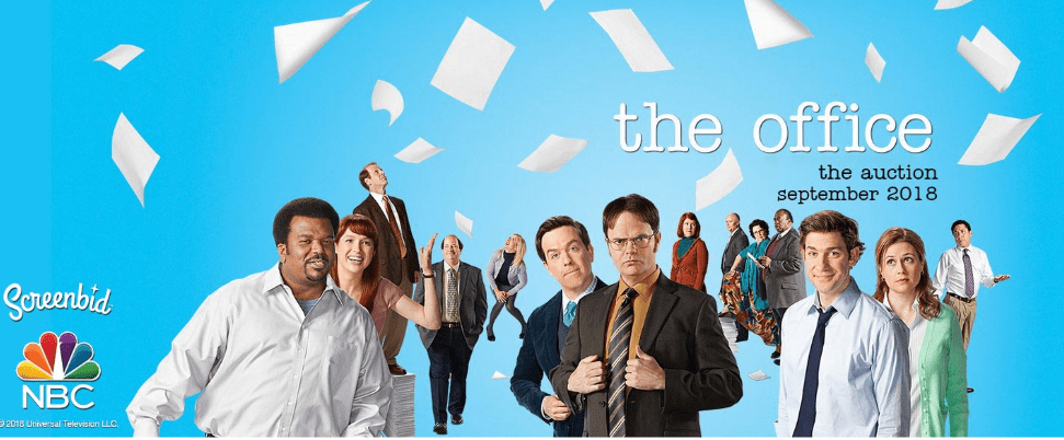 The Office - La vente aux enchères The Office the office enchères auctions