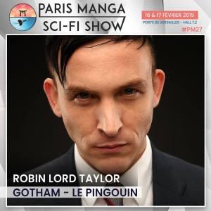 paris manga - Paris Manga & Sci-Fi Show 2019 : les invités (Buffy et Gotham) robin loyd taylor paris manga 2019