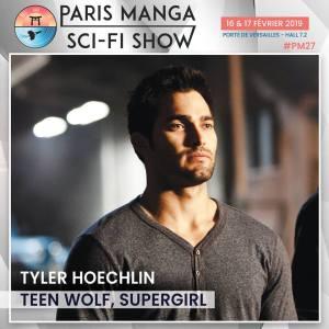 paris manga - Paris Manga & Sci-Fi Show 2019 : les invités (Buffy et Gotham) tyler hoechlin supergirl