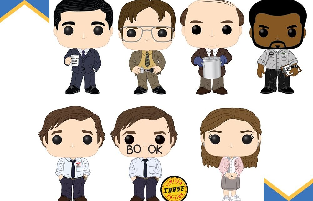 Produits Dérivés - Community, The Office, Dawson, Xena, Men In Black, Pretty Woman, des tonnes de Funko arrivent !