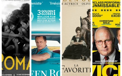 Oscars 2019, Roma, Green Book, La Favorite, Vice