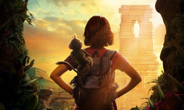 Le film Dora l'exploratrice en deux affiches