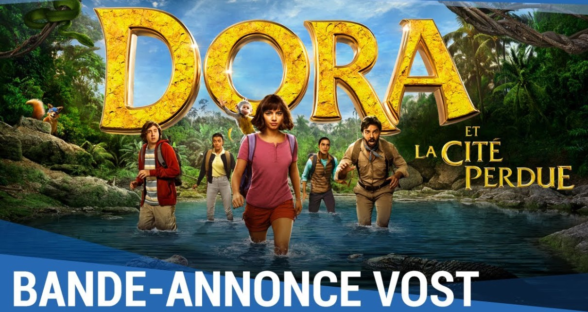 Actu des adaptations - Le film Dora l'exploratrice. Oui, oui. dora le film