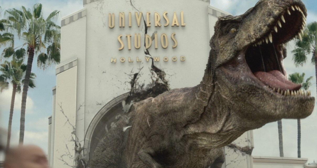 jurassic world - Jurassic World: The Ride est désormais ouvert à Universal Studios Hollywood Jurassic World The Ride It Just Got Real Campaign image 1