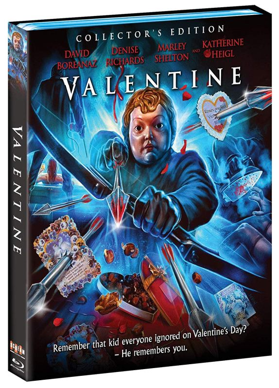 mortelle saint valentin - Mortelle Saint-Valentin (2001): slasher peu tranchant Valentine Blu Ray 1