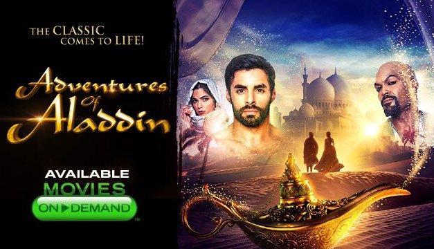 Et pendant ce temps-là la chez Asylum, un film Aladdin