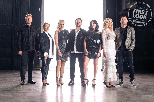 - Beverly Hills 90210 reviendra cet été, premières images de la réunion beverly hills 90210 2019 cast 1