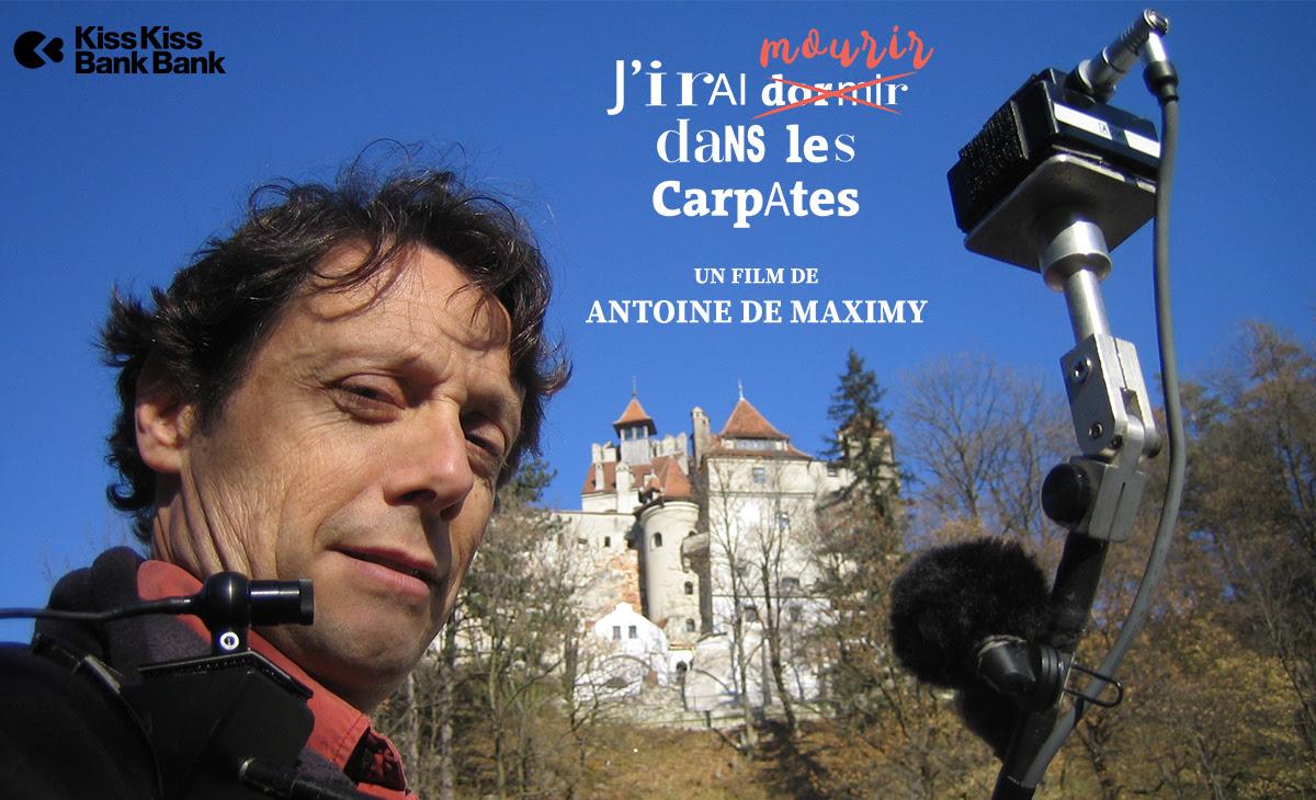 Antoine de Maximy revient avec J'Irai ̶d̶o̶r̶m̶i̶r̶ mourir dans les Carpates