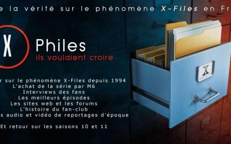 x-files - X-Files a 25 ans, commandez la Version Longue du documentaire X-Philes, ils voulaient croire. affiche youtube 1