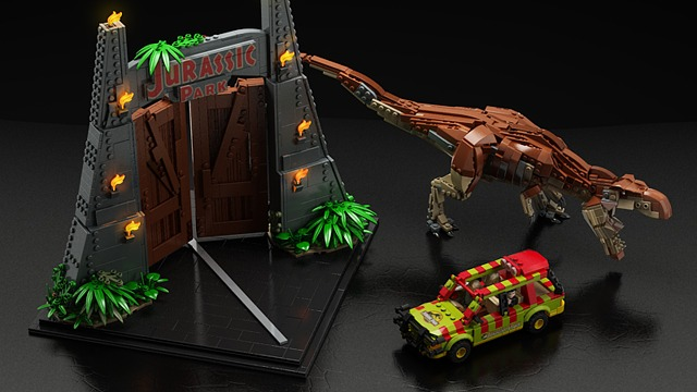 Jurassic park - Un set LEGO Jurassic Park à venir