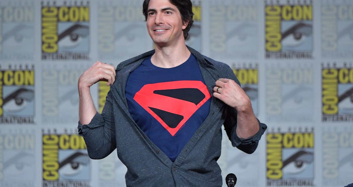 sdcc - Brandon Routh (Superman Returns) reprendra son rôle dans le prochain crossover DC brandon routh