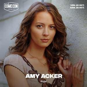 comic-con paris - COMIC CON PARIS 2019 : les invités (Avengers, Firefly...) amy acker