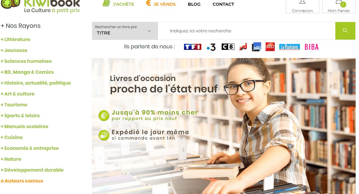 - Kiwibook, la libraire en ligne nouvelle génération kiwibook