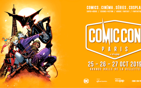 comic-con paris - COMIC-CON PARIS 2019 : le programme