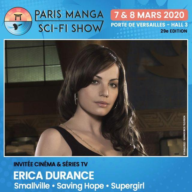paris manga - Paris Manga - Sci-Fi Show : l'édition printemps 2020 accueille Jason Dohring et le trio Kristin Kreuk / Tom Welling / Erica Durance