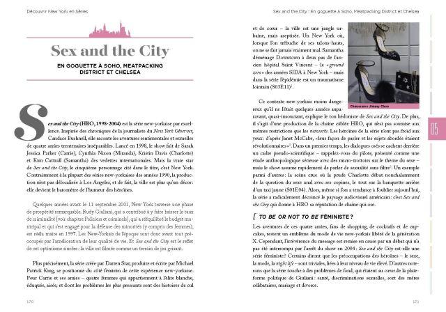 concours - Serial Causeurs vous fait gagner les deux livres Découvrir New-York et Londres en séries !
