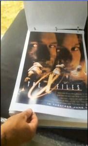 x-files - X-Files : des concept arts de l'affiche du premier film dévoilés Concept Art FTF 4