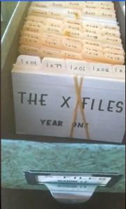 x-files - X-Files : des concept arts de l'affiche du premier film dévoilés xfiles production cards