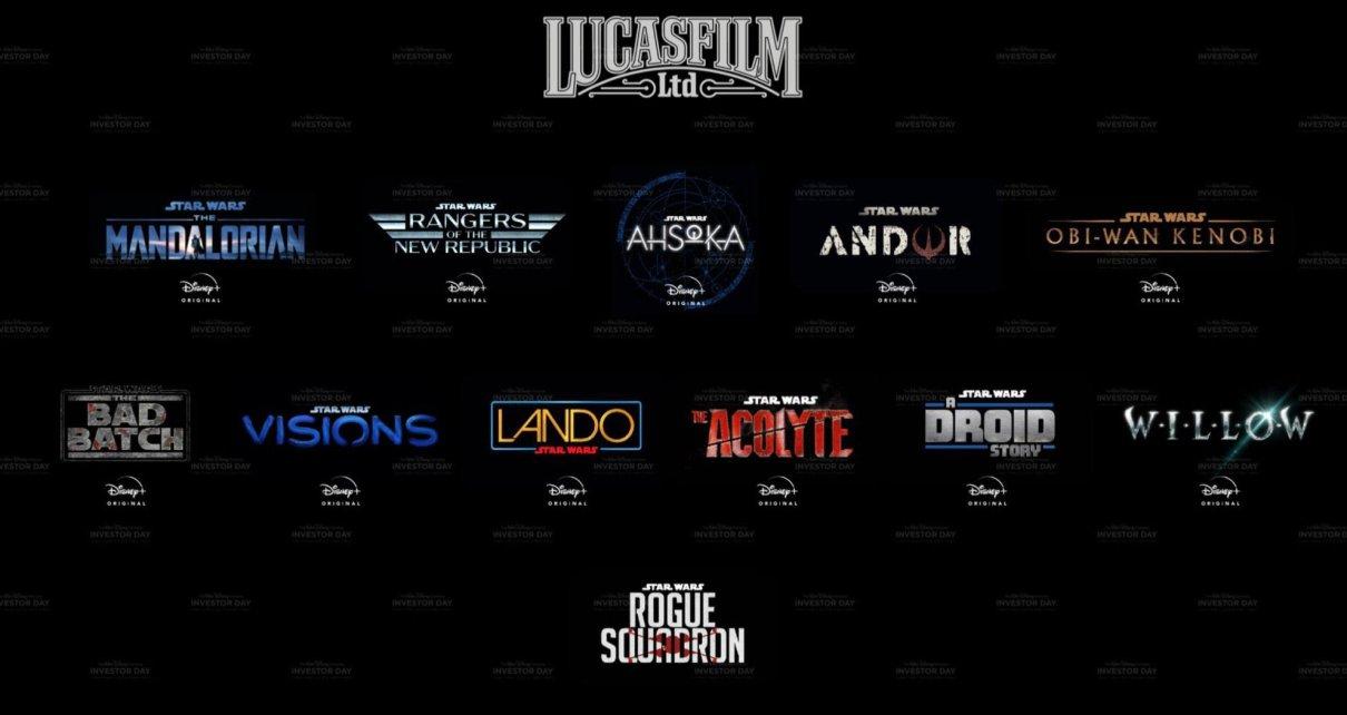 Actus - Star Wars se décline en 11 projets à venir lucasfilm