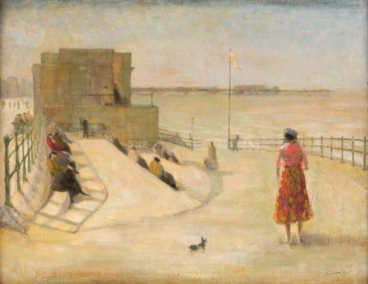 Shore, Jack - Blackpool Promenade - BUYGM.0627.1949
