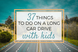 open road things to do on a long car drive with kids