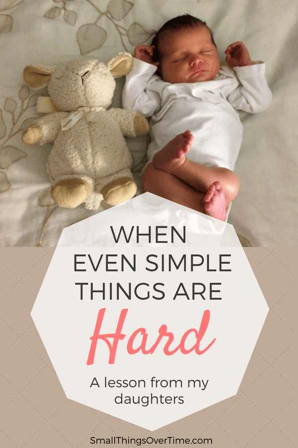 Feeling discouraged because seemingly simple things are hard for you? Read this.