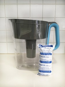 Brita water filter pitcher with filter
