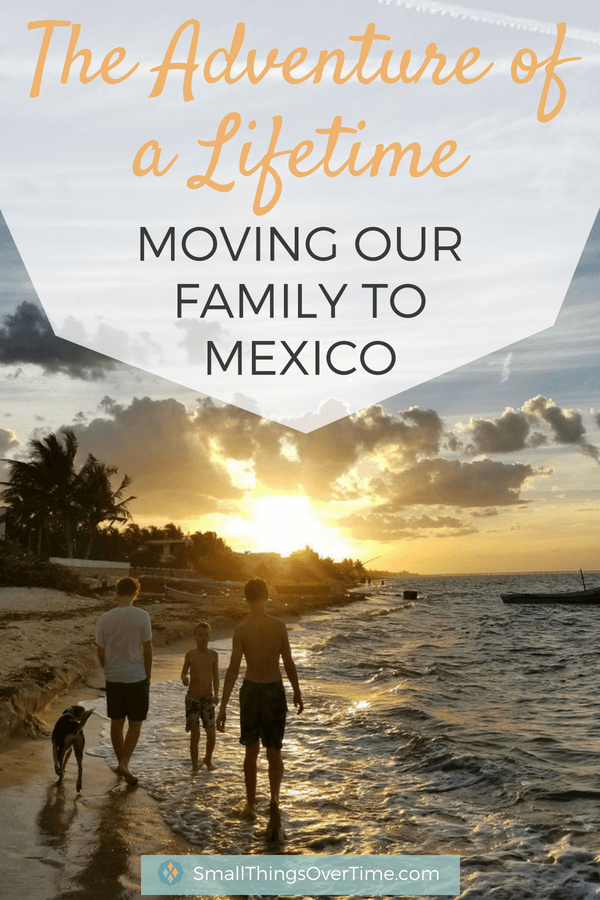 April Stanfield was feeling the effects of an overcommitted family life so she took drastic measures to reconnect & moved her family Mexico for the adventure of a lifetime. Here's what she learned in the process.