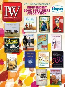 cover of publishers weekly for September 2019 featuring books from the ibpa independent book publishers association