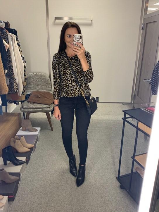 J.Crew Tippi Sweater leopard