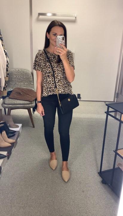 Socialite Leopard Tee
